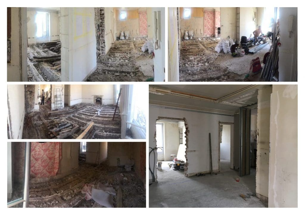 renovation travaux appartement