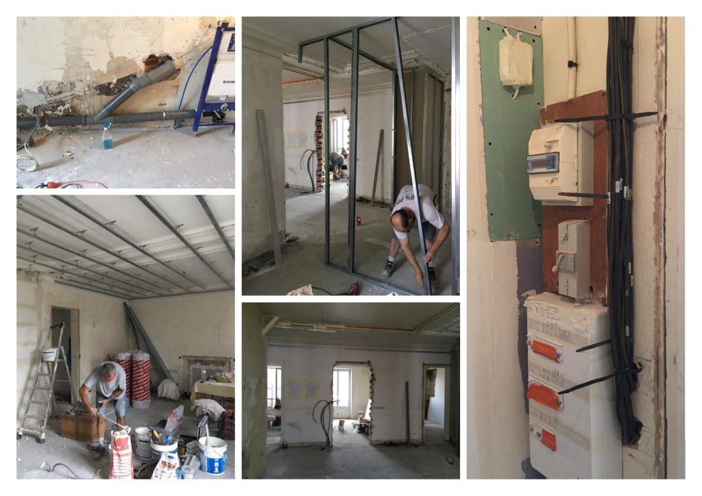 travux rénovation d'appartement