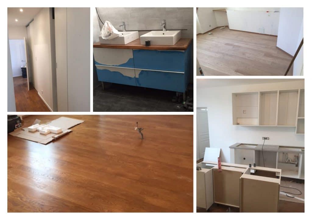 travaux de renovation appartement