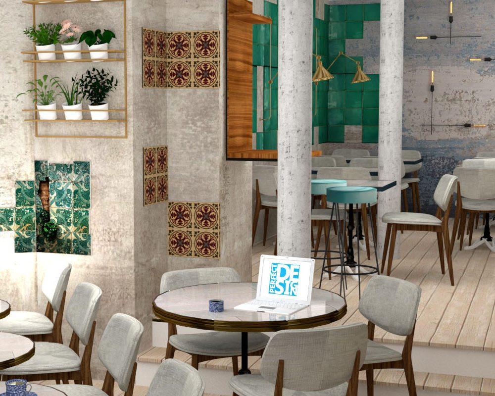 SLIDER restaurant Maubeuge en 3D