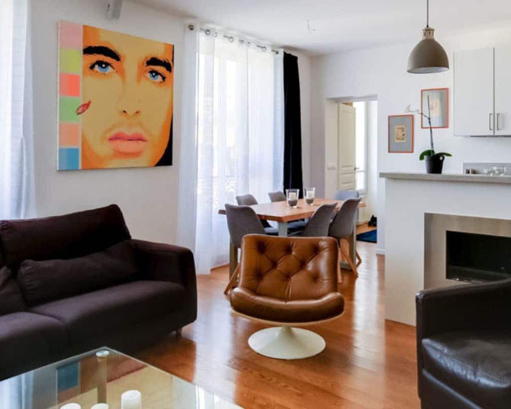 aménagement appartement haussmannien