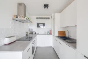 rénovation cuisine ouverte en U