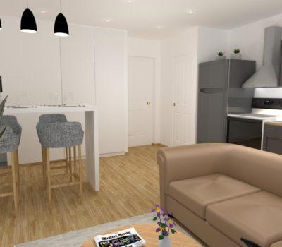 Séjour Appartement Levallois