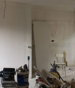 chantier rénovation appartement à paris