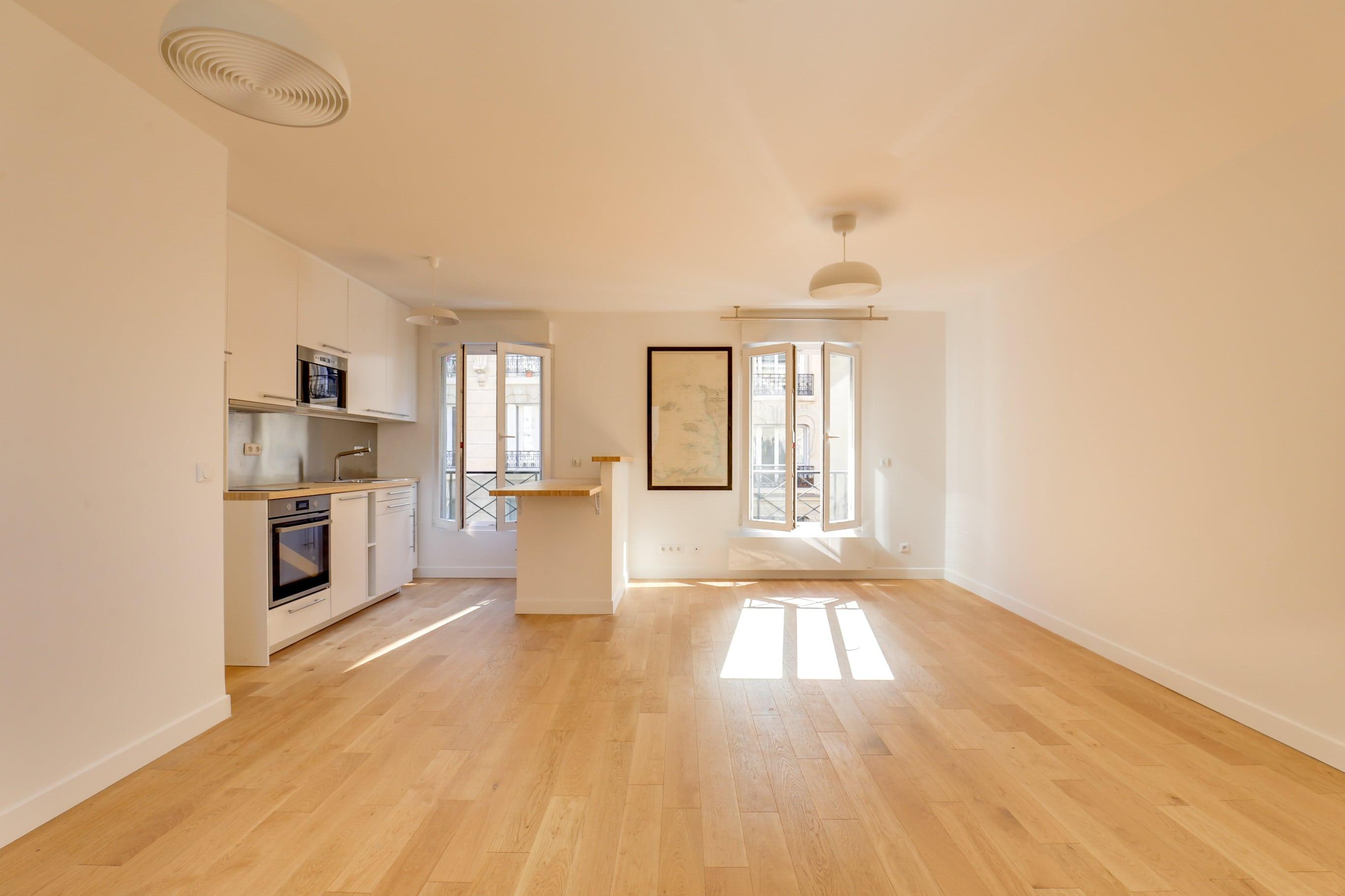 appartement cuisine ouverte sur salon