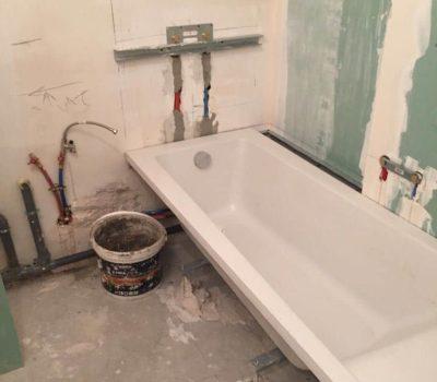 salle de bain travaux rénovation