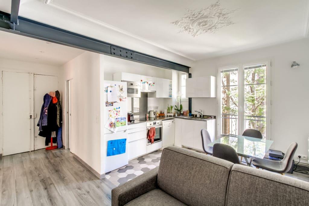 rénovation séjour appartement