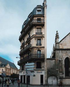 façade immeuble paris