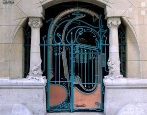 ART NOUVEAU PARIS PORTE